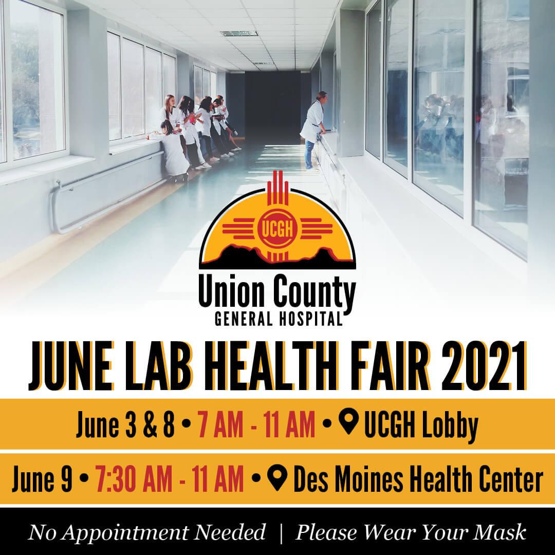 UCGH HealthFair 2021 Social June